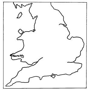 Abereiddy Bay Map